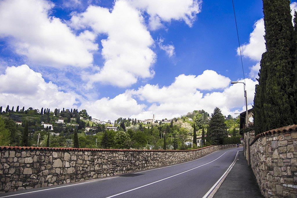 Дорога в Бергамо