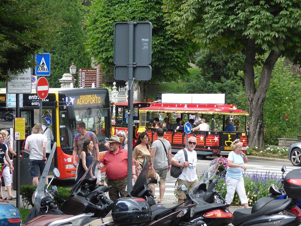 Отправление автобусов