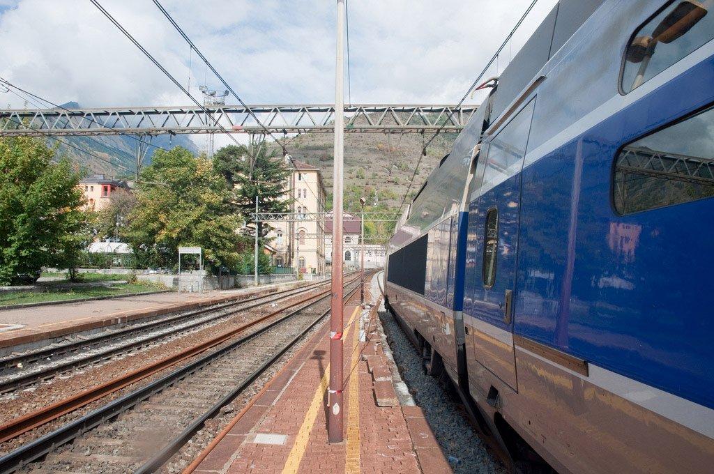 Поездом из Милана