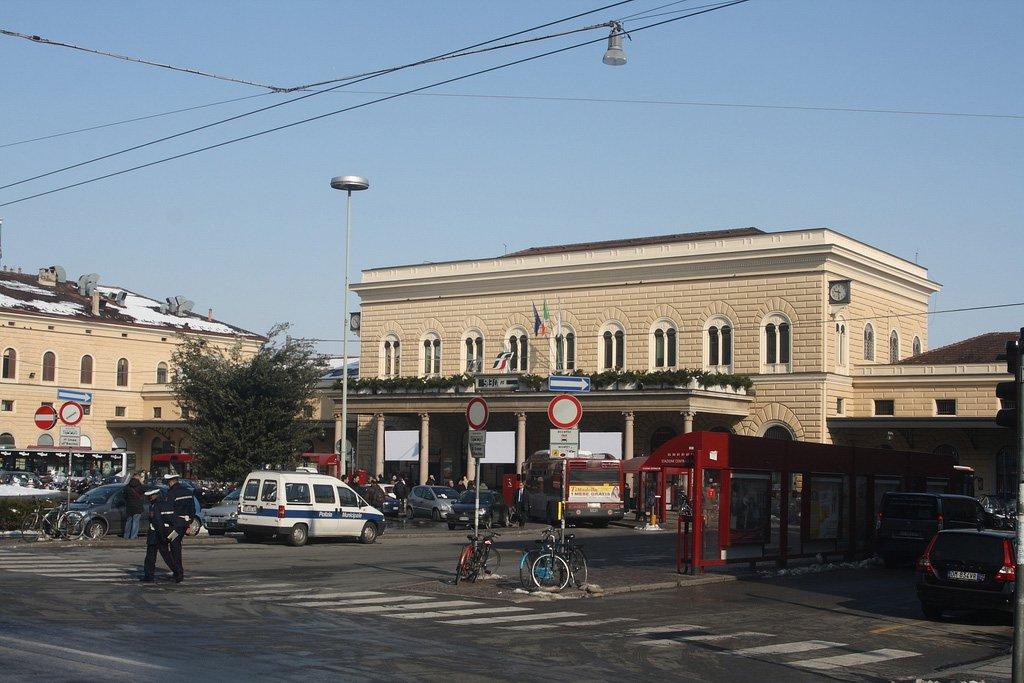 Вокзал в Болонье
