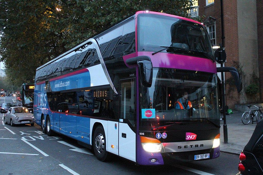 Автобус в Люксембург