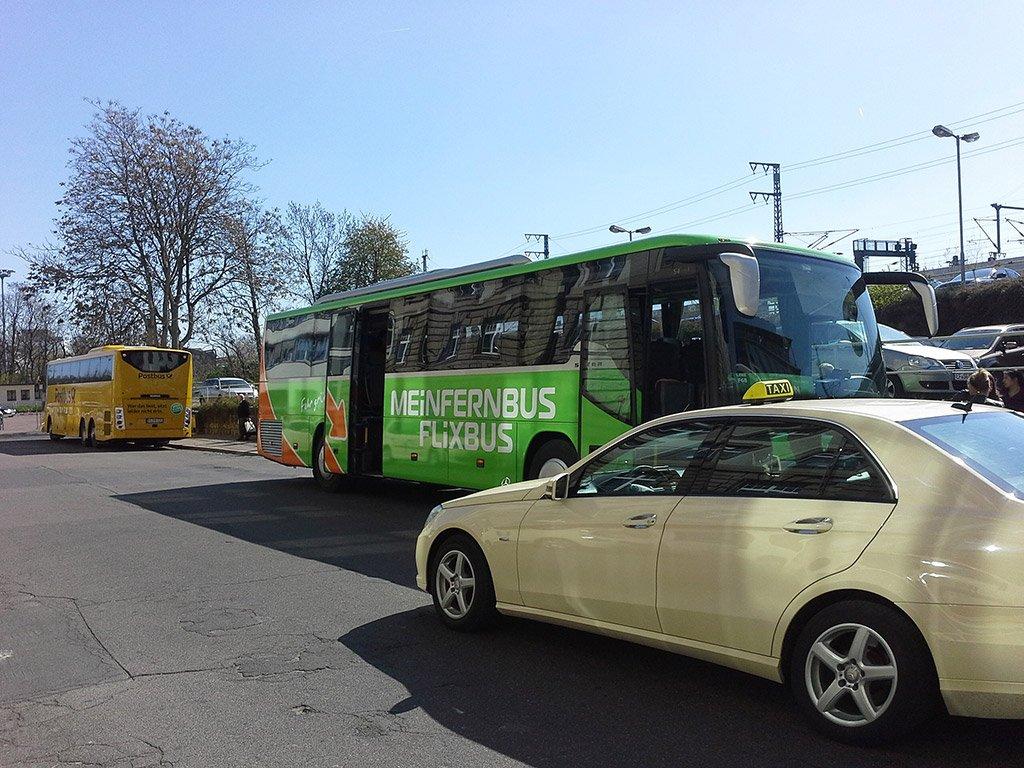 Автобус в Венецию