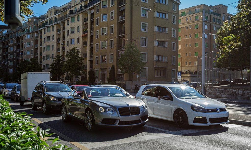 Автомобили в Женеве