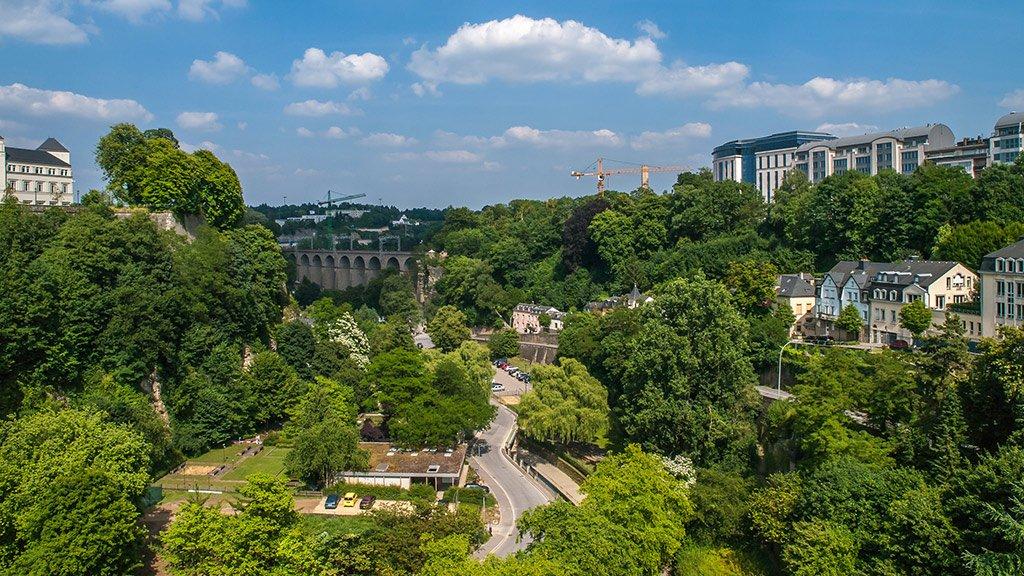 Дорога в Люксембург