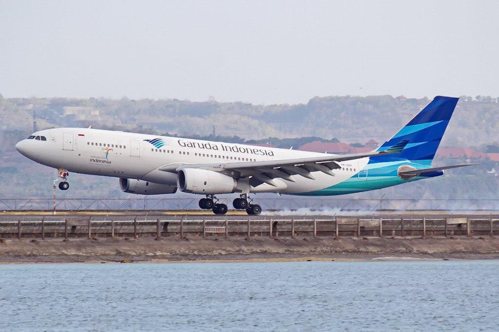 Индонезийский самолет