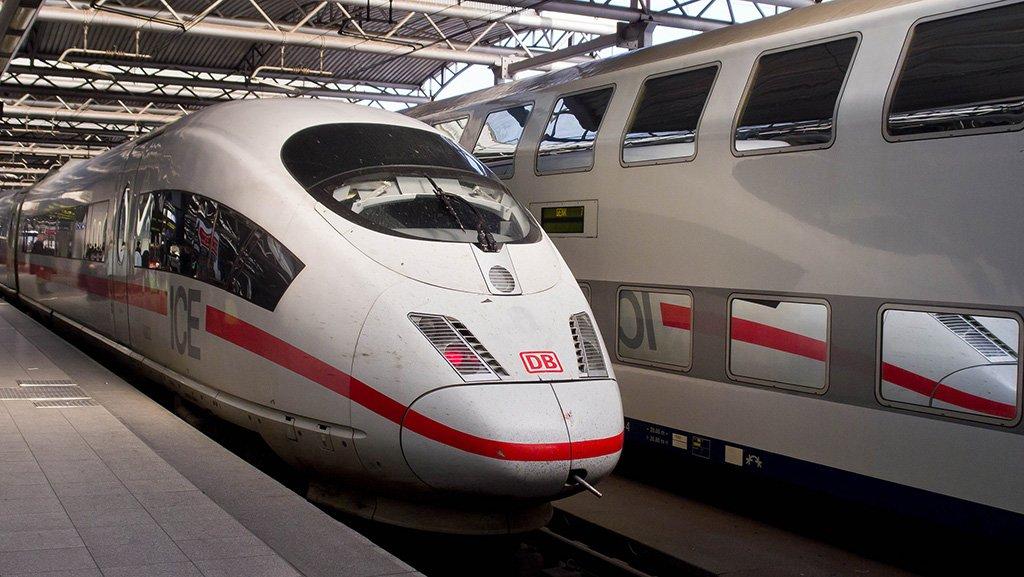 Поезда в Брюсселе