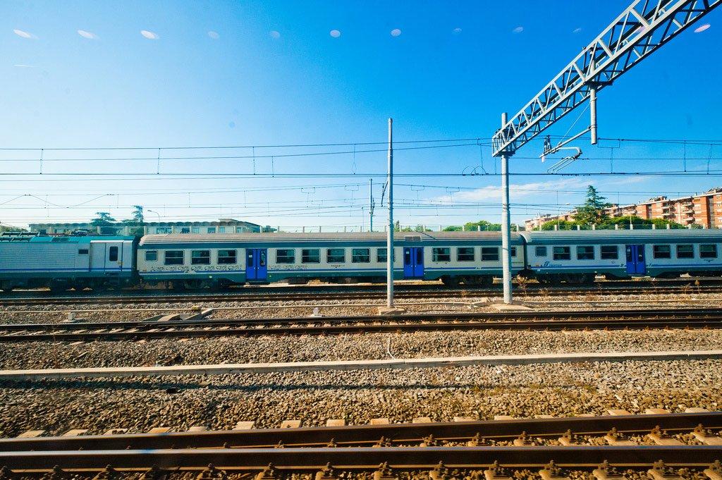 Поездка на поезде