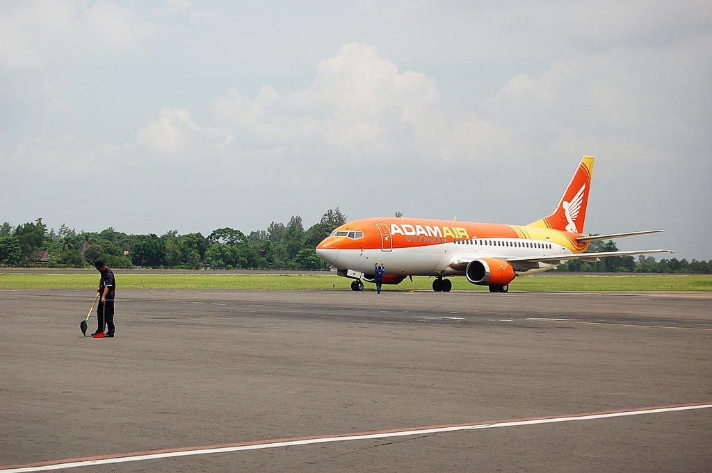 Самолет на Бали