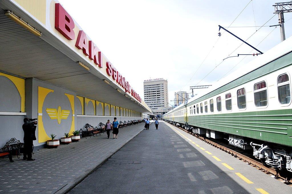 Поезд в Баку