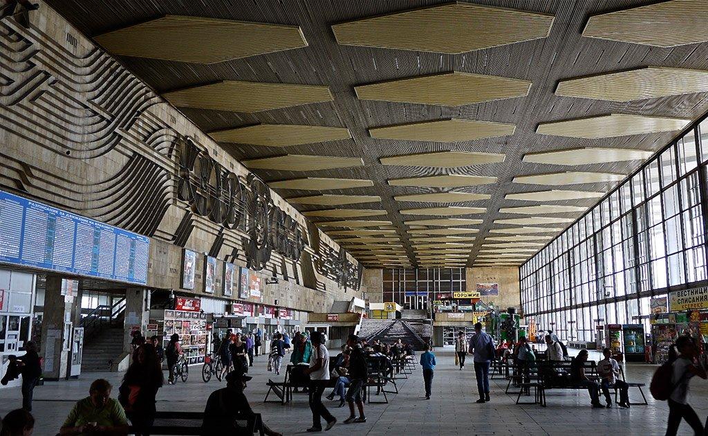 Центральный вокзал Софии