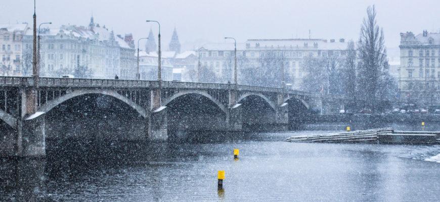 Прага в рождество