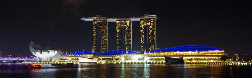 Marina Bay Sands Сингапур. Отель с бассейном на крыше Марина бэй сэндс. Фото, цены, интересные факты