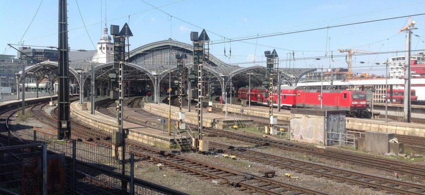 Вокзал в Кельне