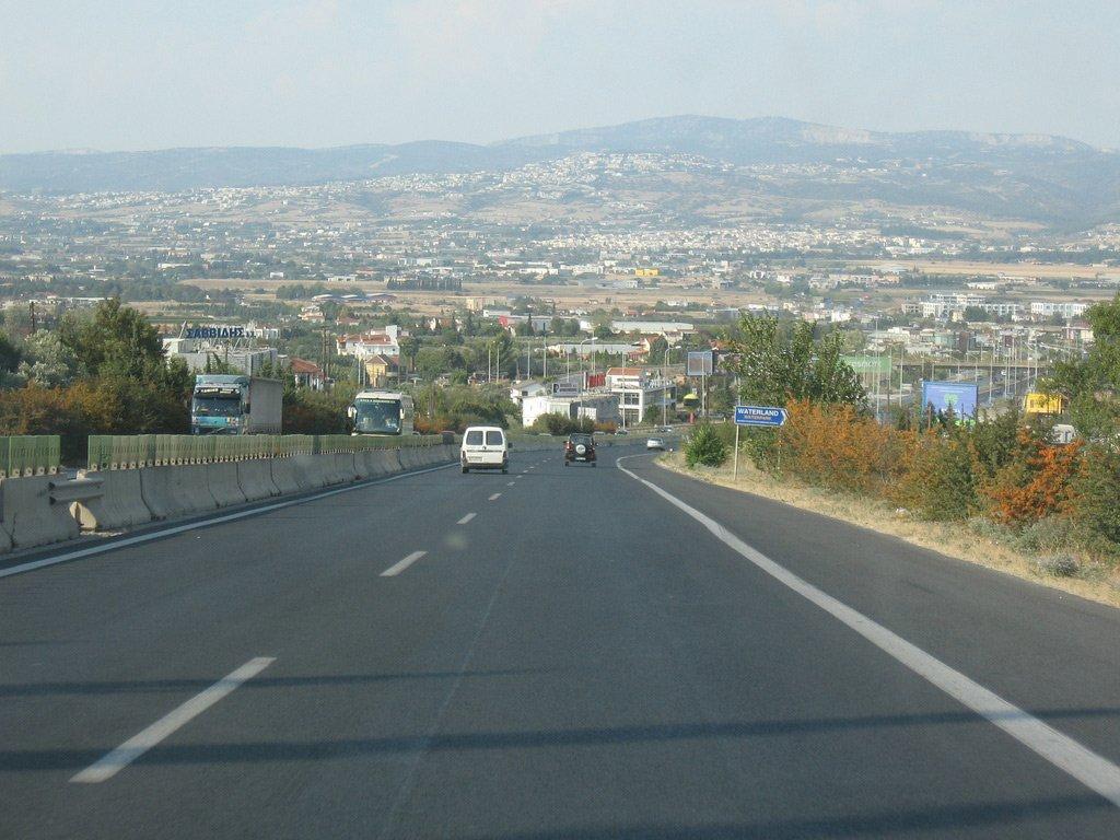 Трасса Салоники - Афины