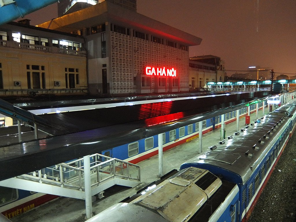 Вокзал в Ханое