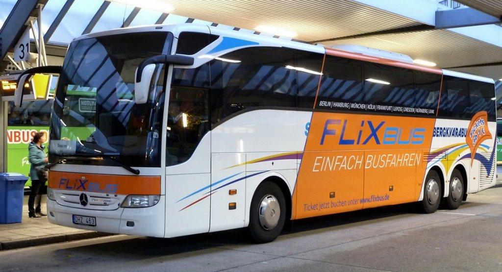 Автобус в Берлин