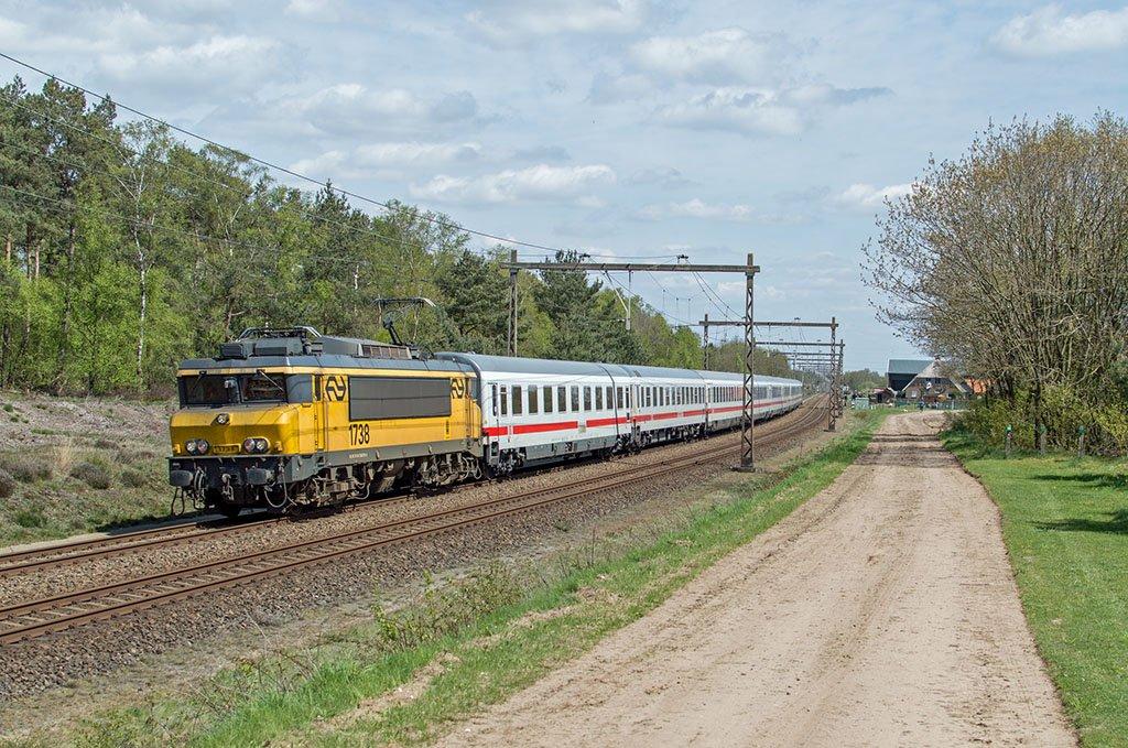 Поезд Берлин - Амстердам