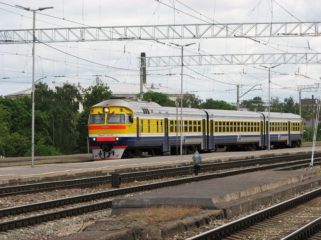 Поезд в Ригу