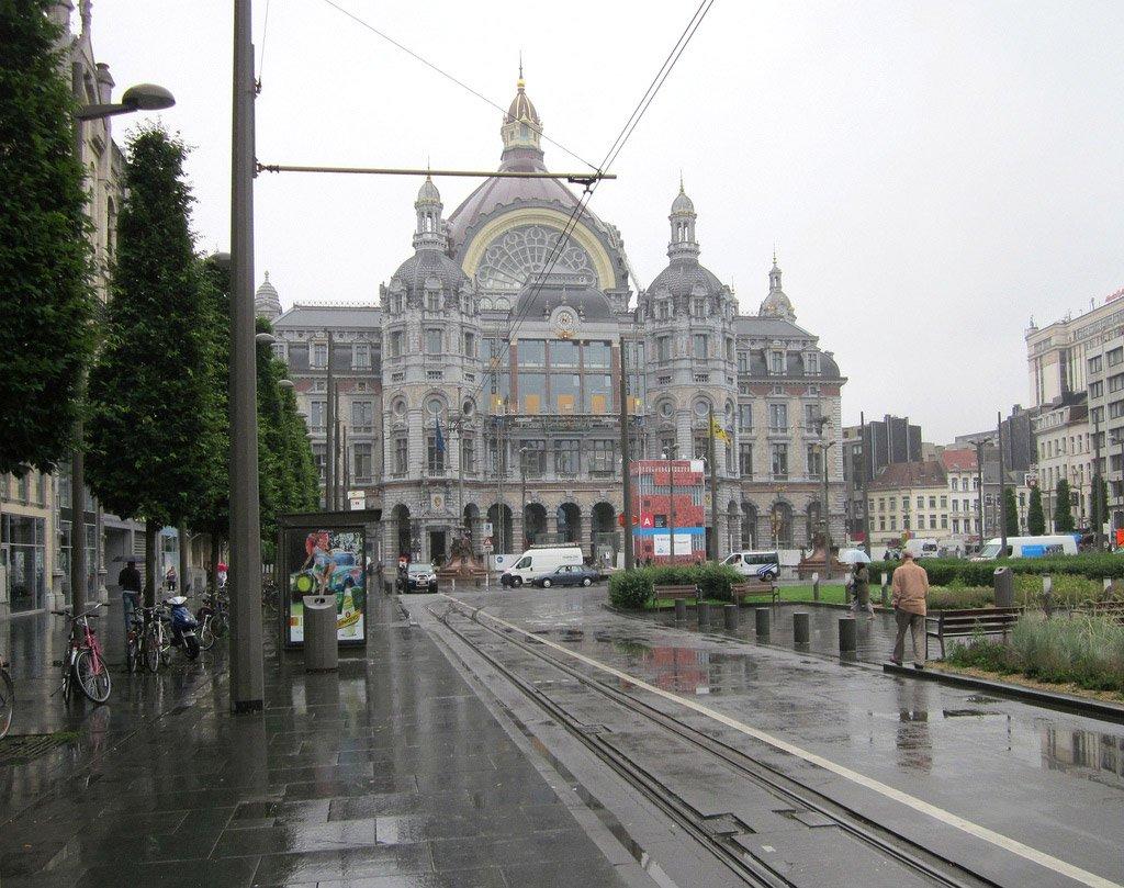 Центральный вокзал Антверпена