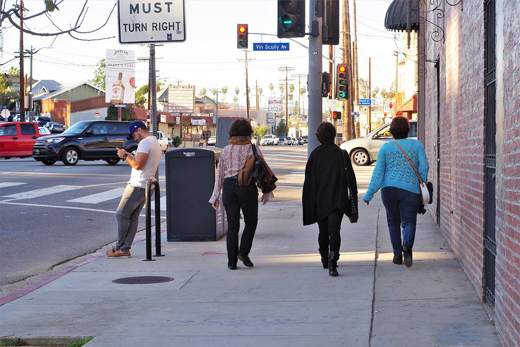 Улица Лос-Анджелеса