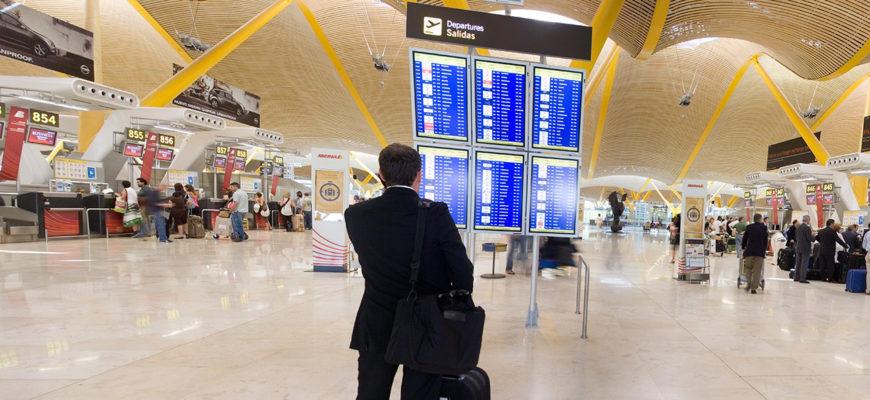 Аэропорт Барахас - Мадрид