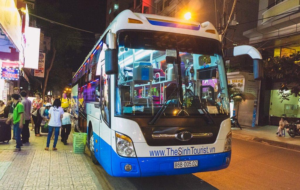 Автобус в Хошимине