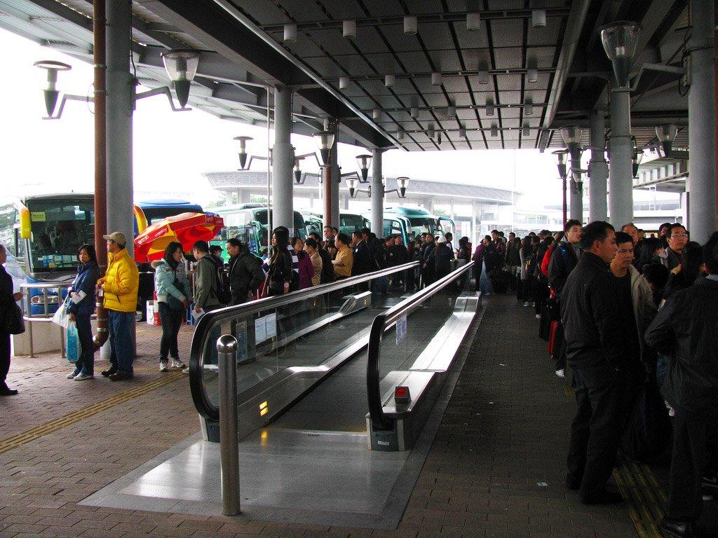 Автостанция в Гуанчжоу