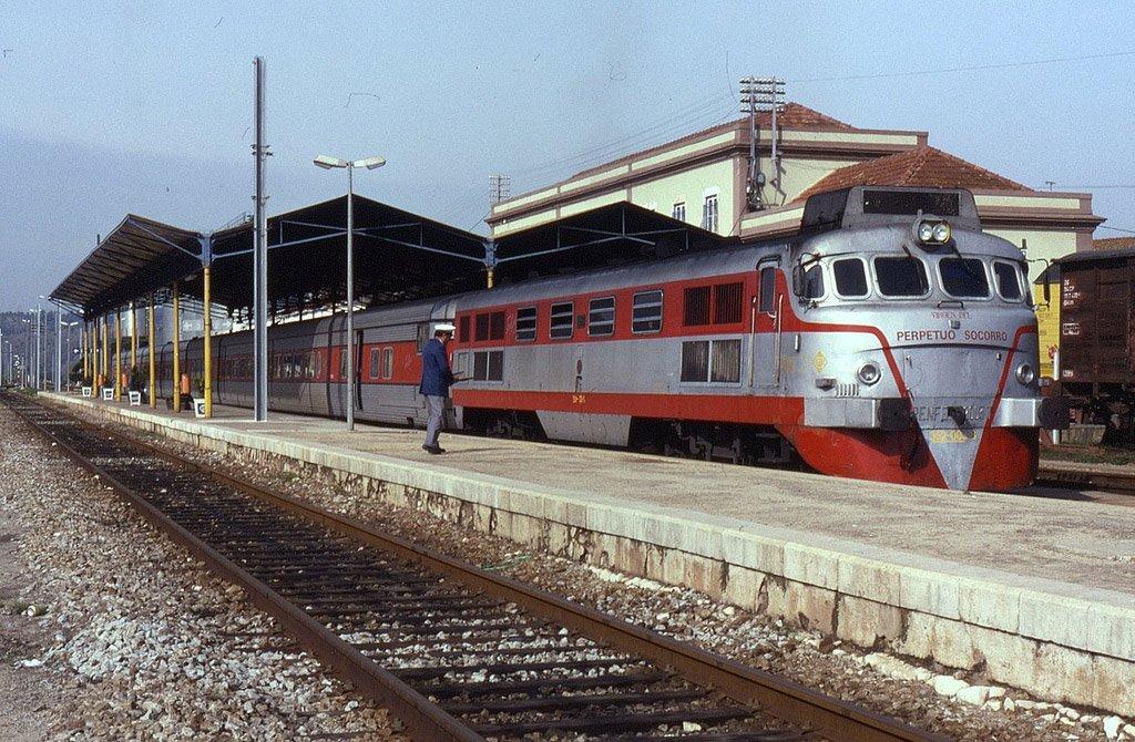 Поезд в Лиссабон