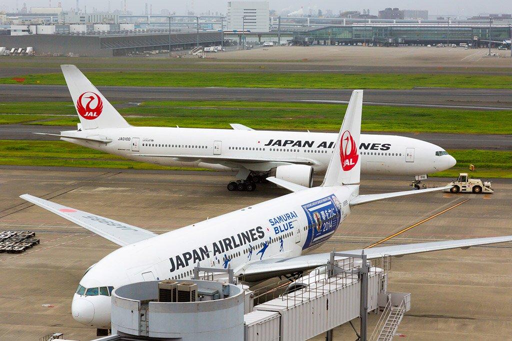 Самолеты в Токио