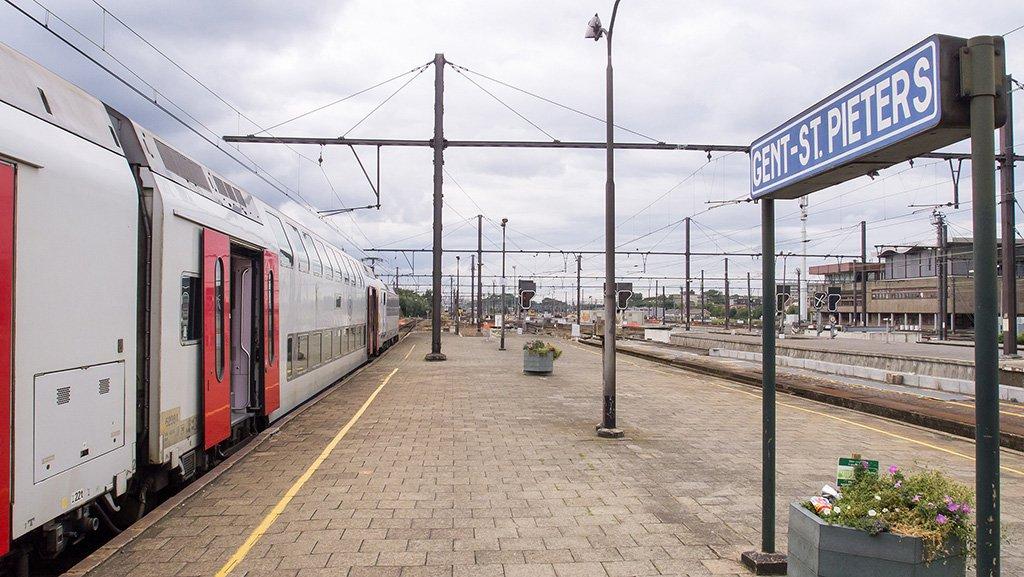 Станция в Генте