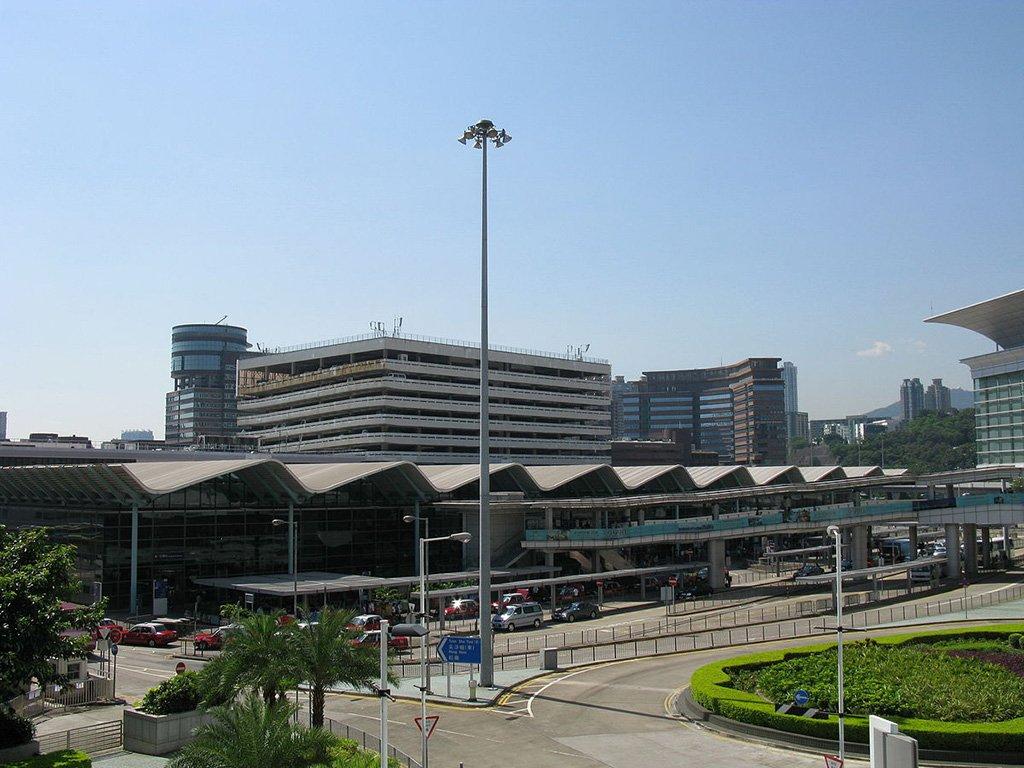 Вокзал в Гонконге