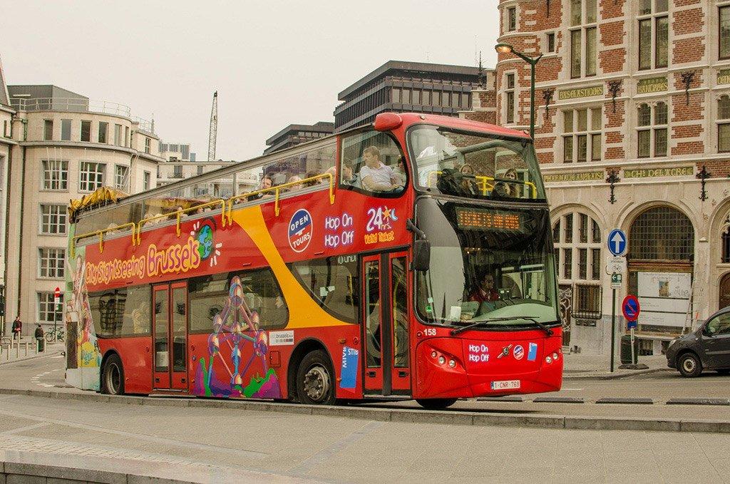 Автобус в Брюссель