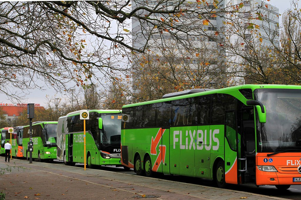 Автобус в Нюрнберг