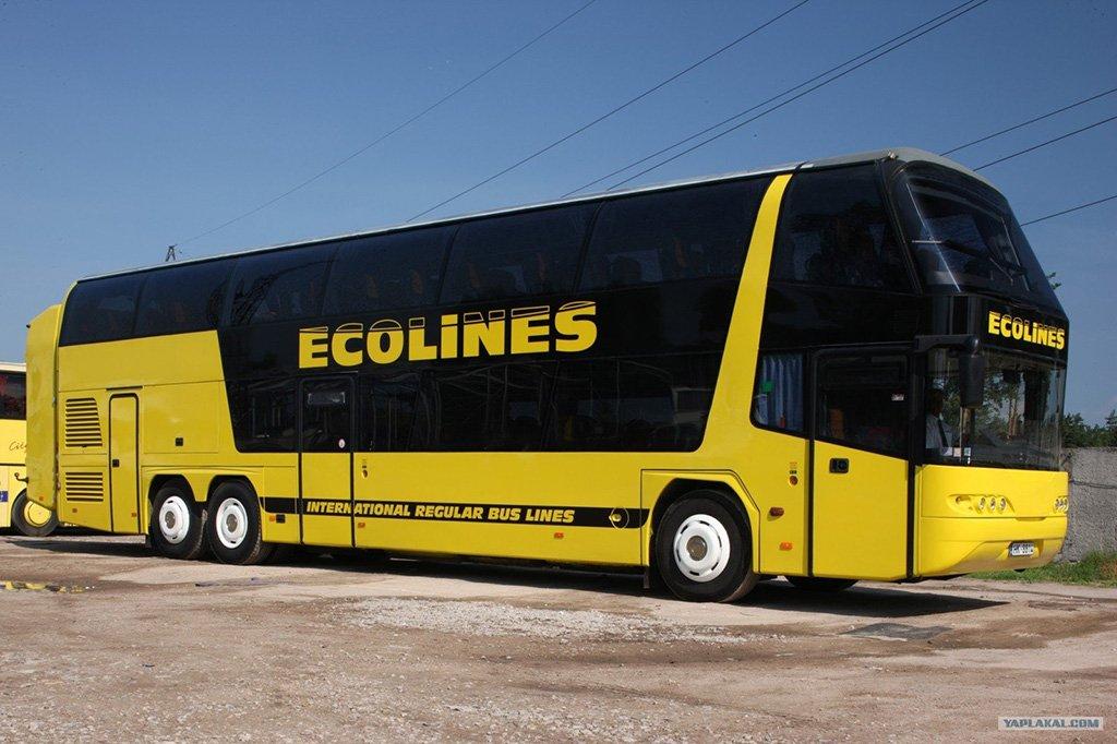 Автобус в Прагу
