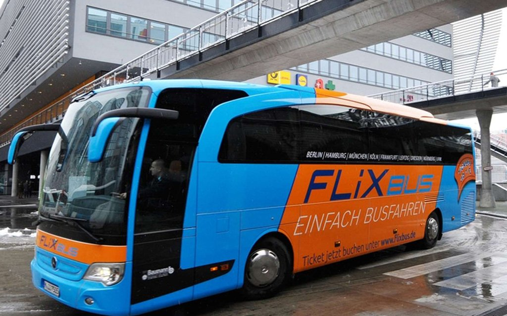 Автобус в Цюрих