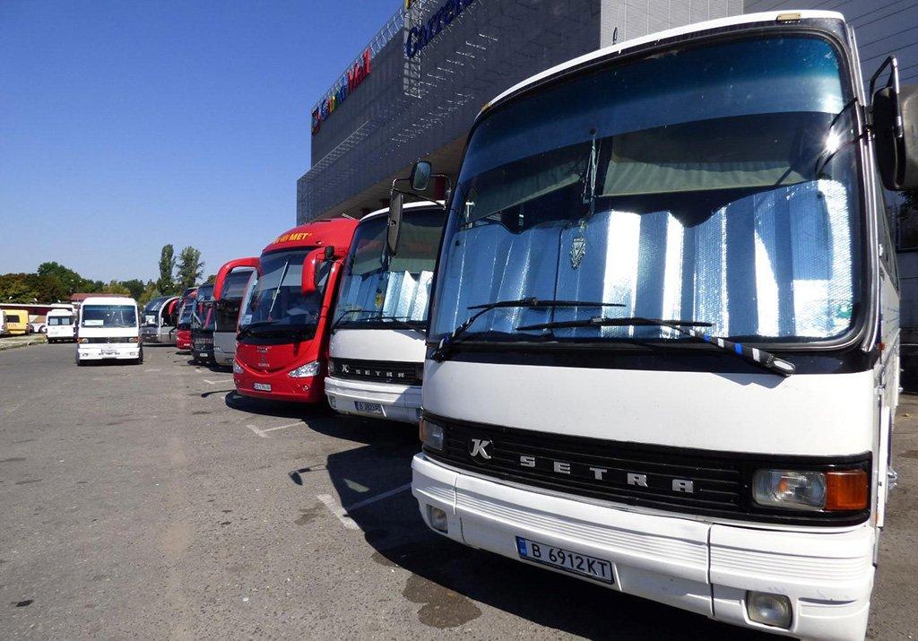 Болгарские автобусы