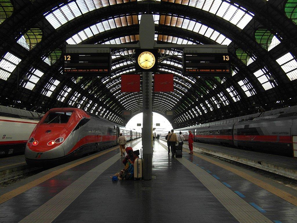 Миланский вокзал