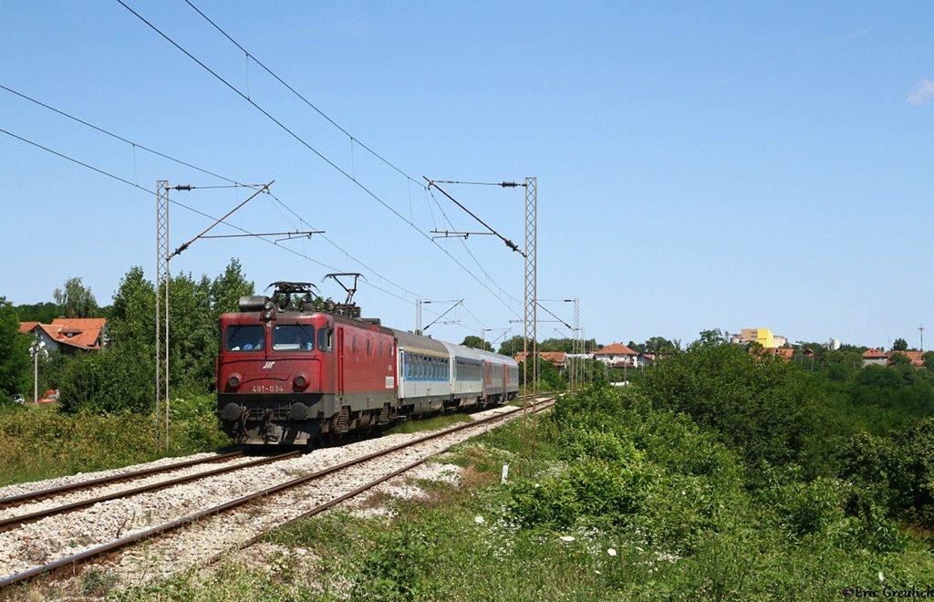 Поезд в Бургас