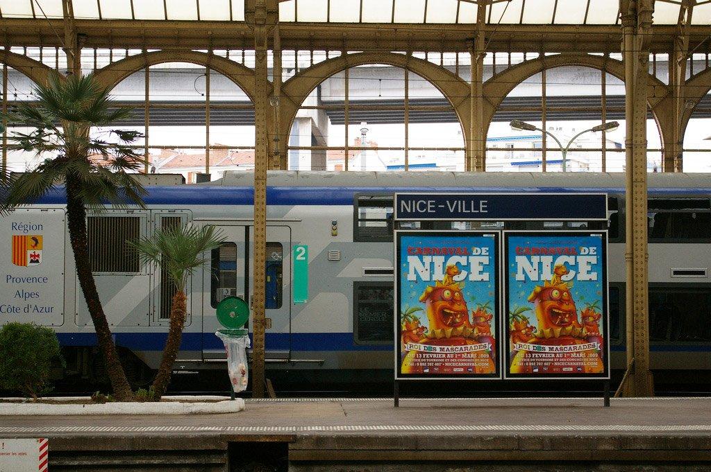 Поезд в Ниццу