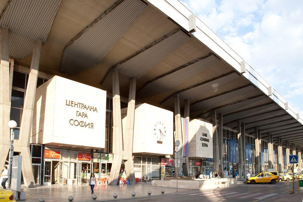 Вокзал в Софии