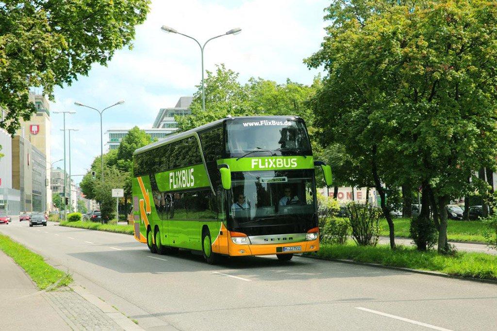 Автобус в Гамбург