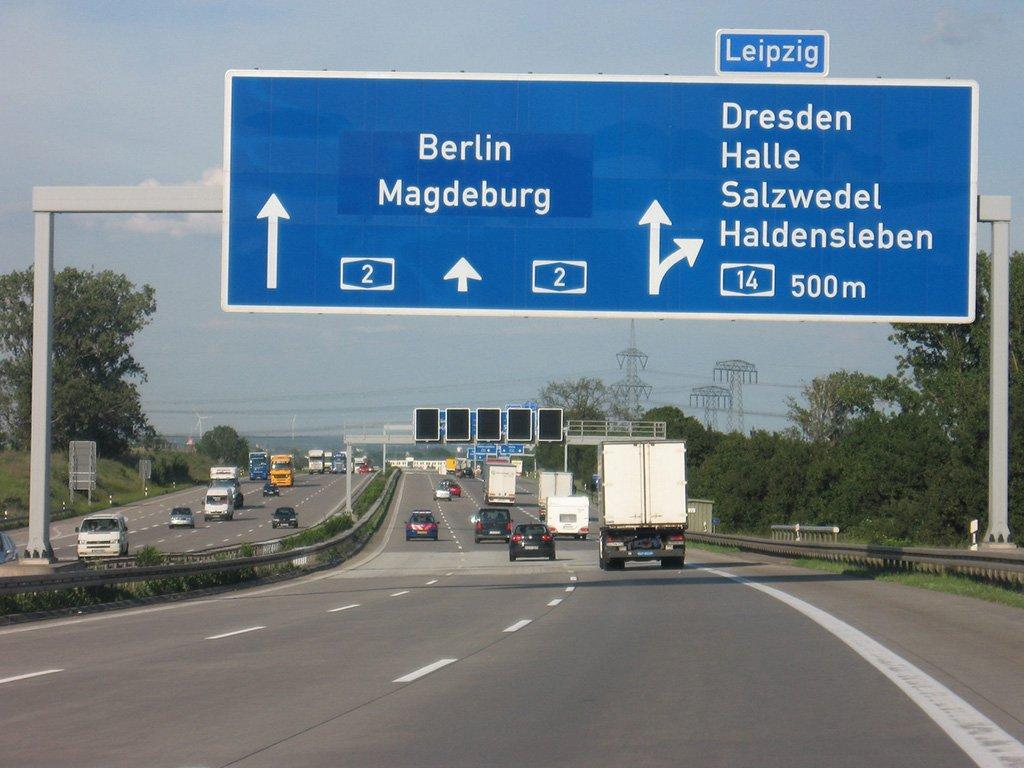 Шоссе Калининград - Берлин