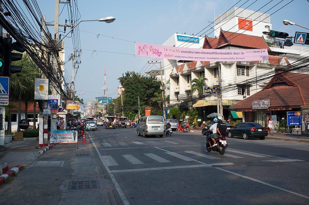 Улица Паттайи