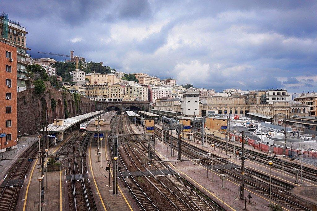 Вокзал в Генуе