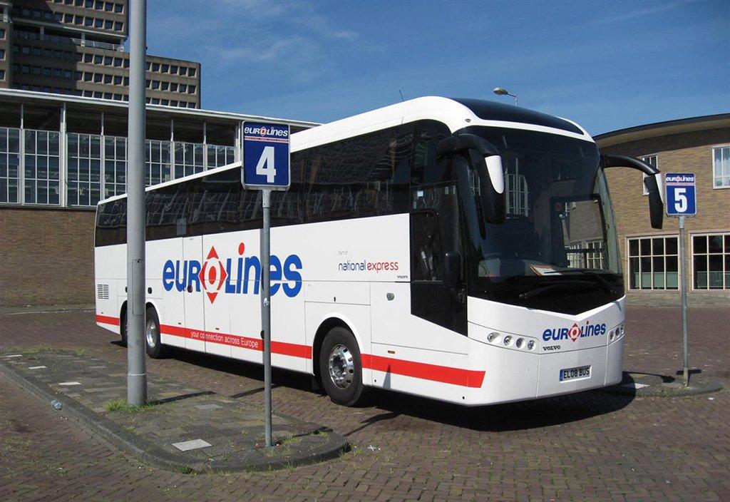 Автобус в Гаагу