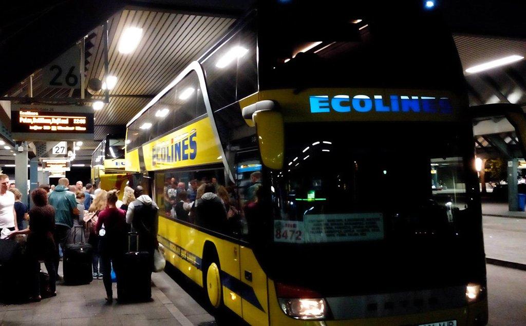 Автобус в Варшаву