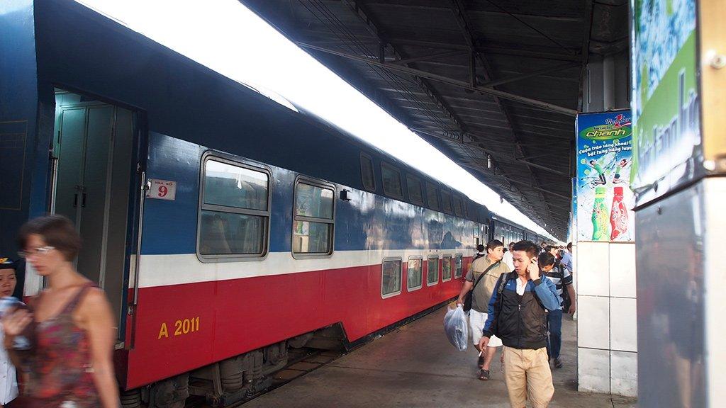 Поезд в Хошимин