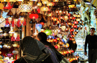 Рынок Лалели в Стамбуле