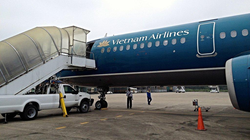 Самолет из Хошимина