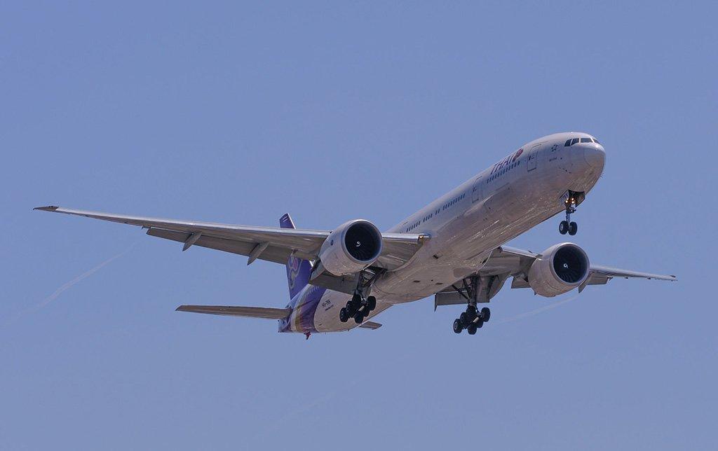 Самолет в Сан-Франциско